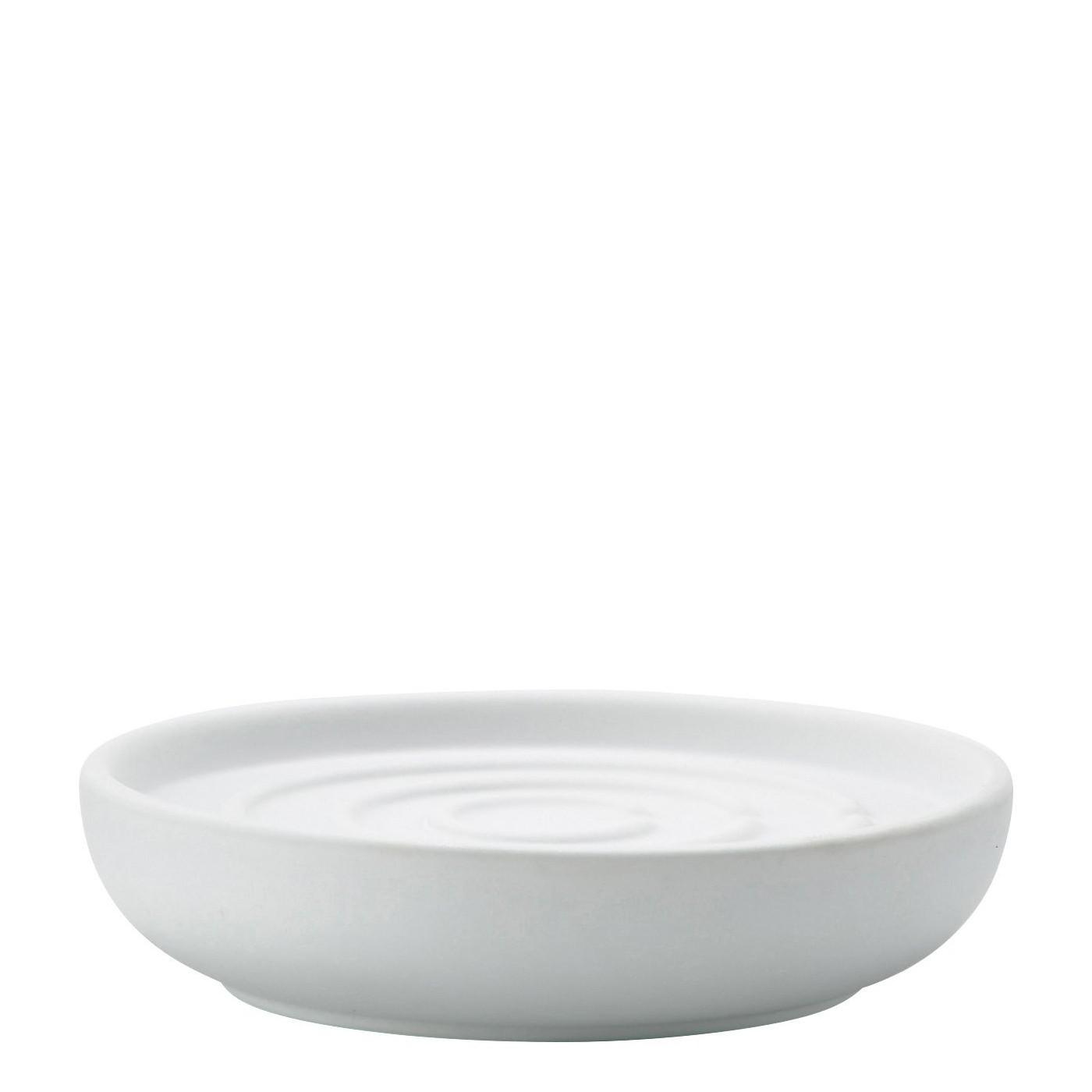 Porte savon blanc