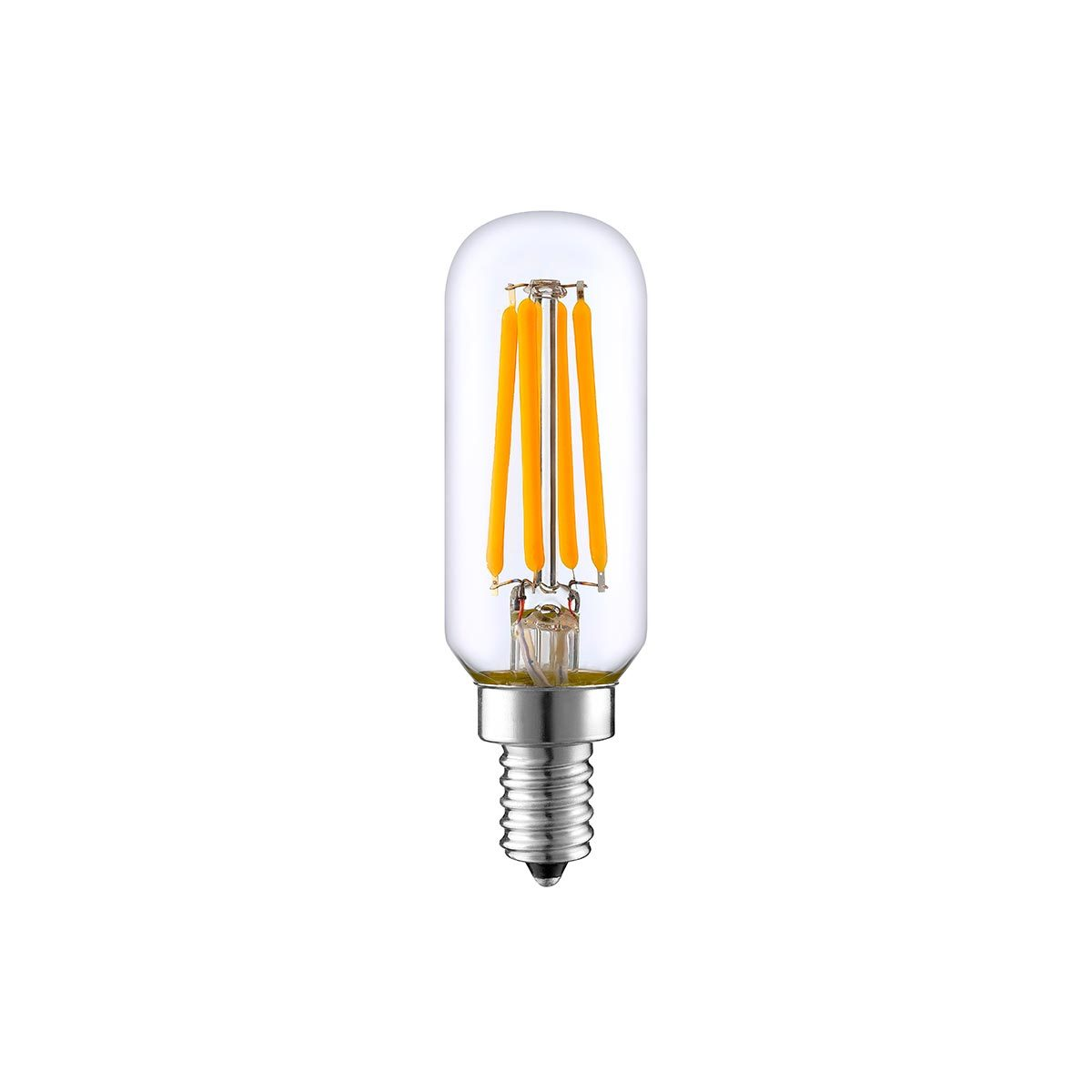 Ampoule LED E27 filament verre transparent H9cm
