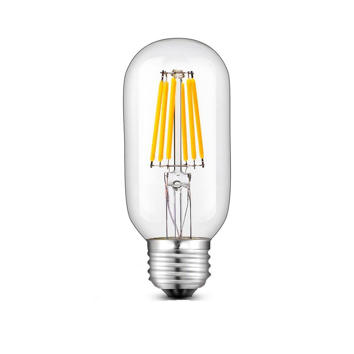 Ampoule LED E27 filament verre transparent H12cm