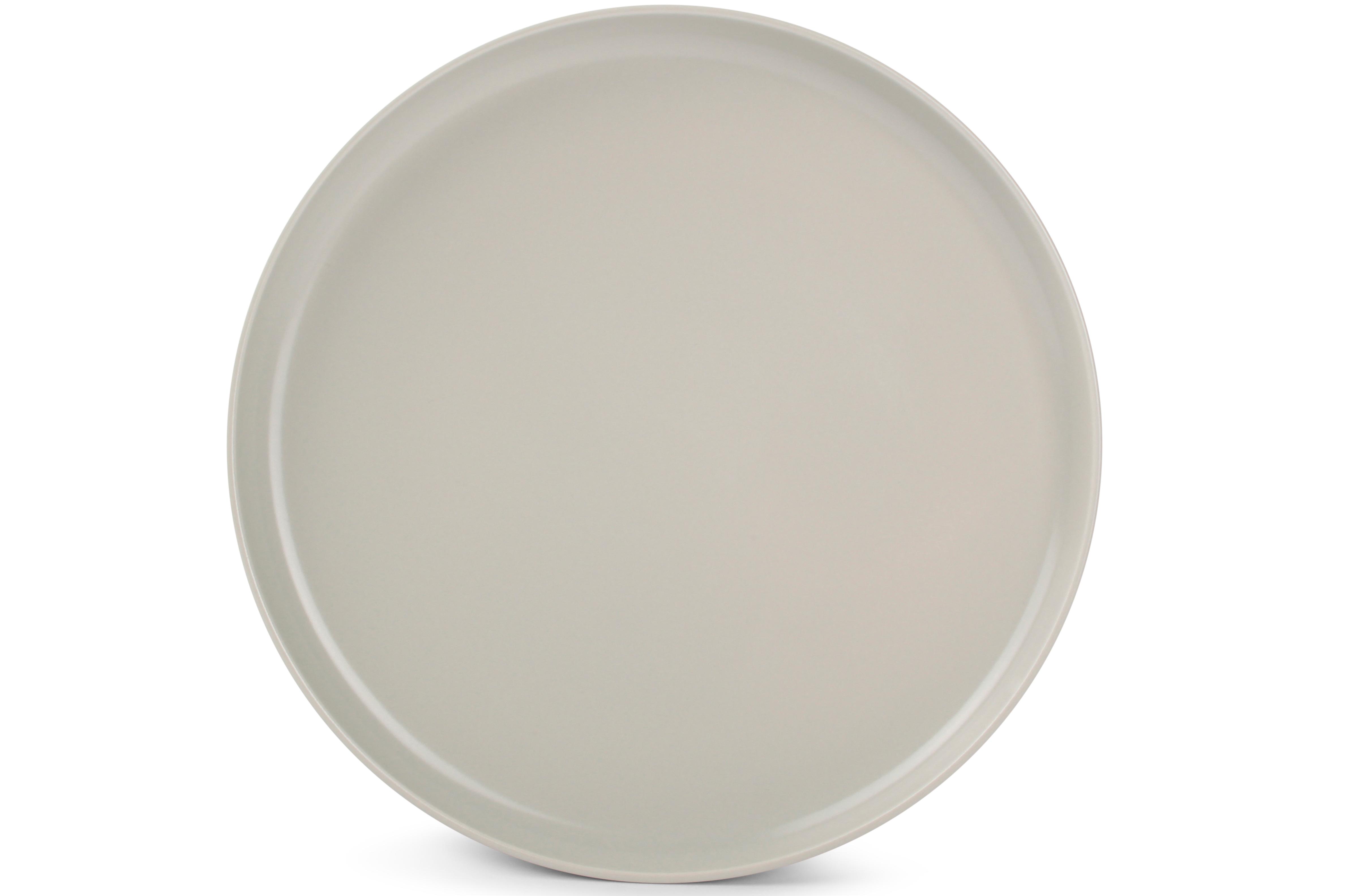 Lot de 6 - Assiette plate beige Ø 27cm