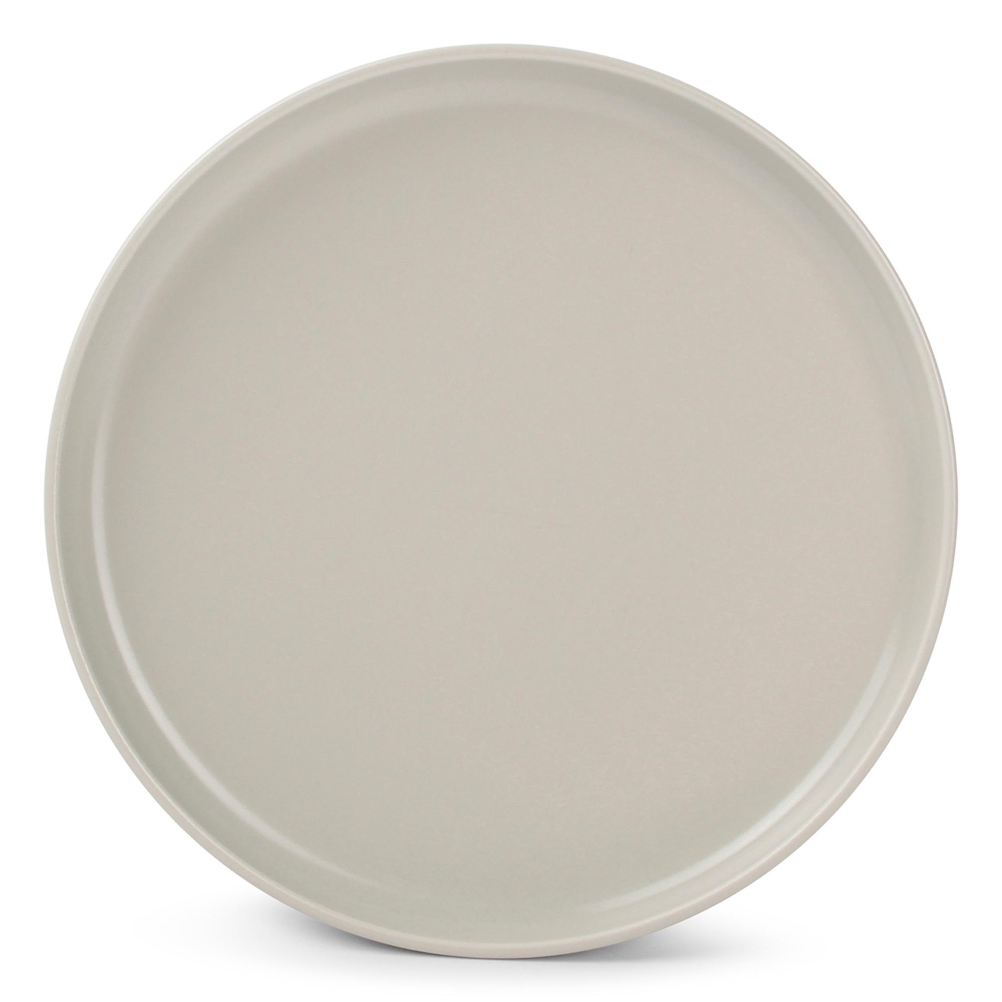 Lot de 6 - Assiette plate beige Ø 20cm