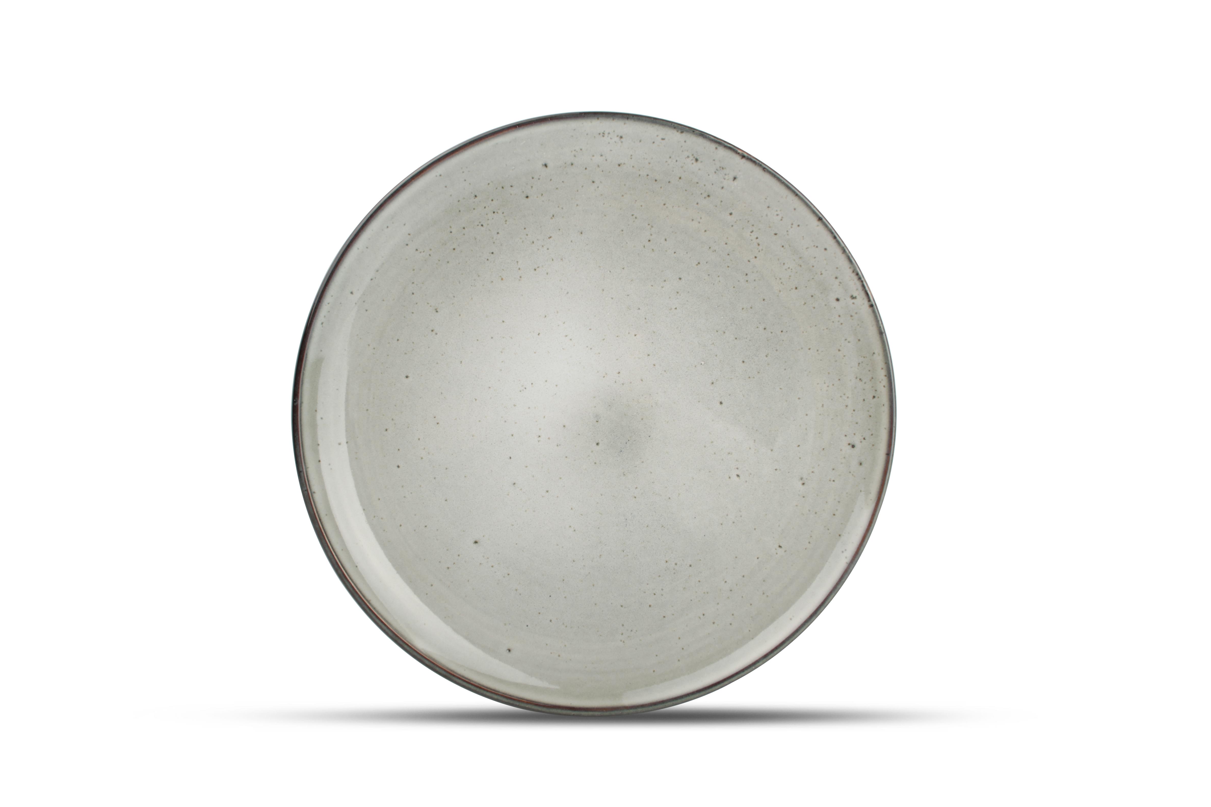 Lot de 4 - Assiette plate vert Ø 26cm