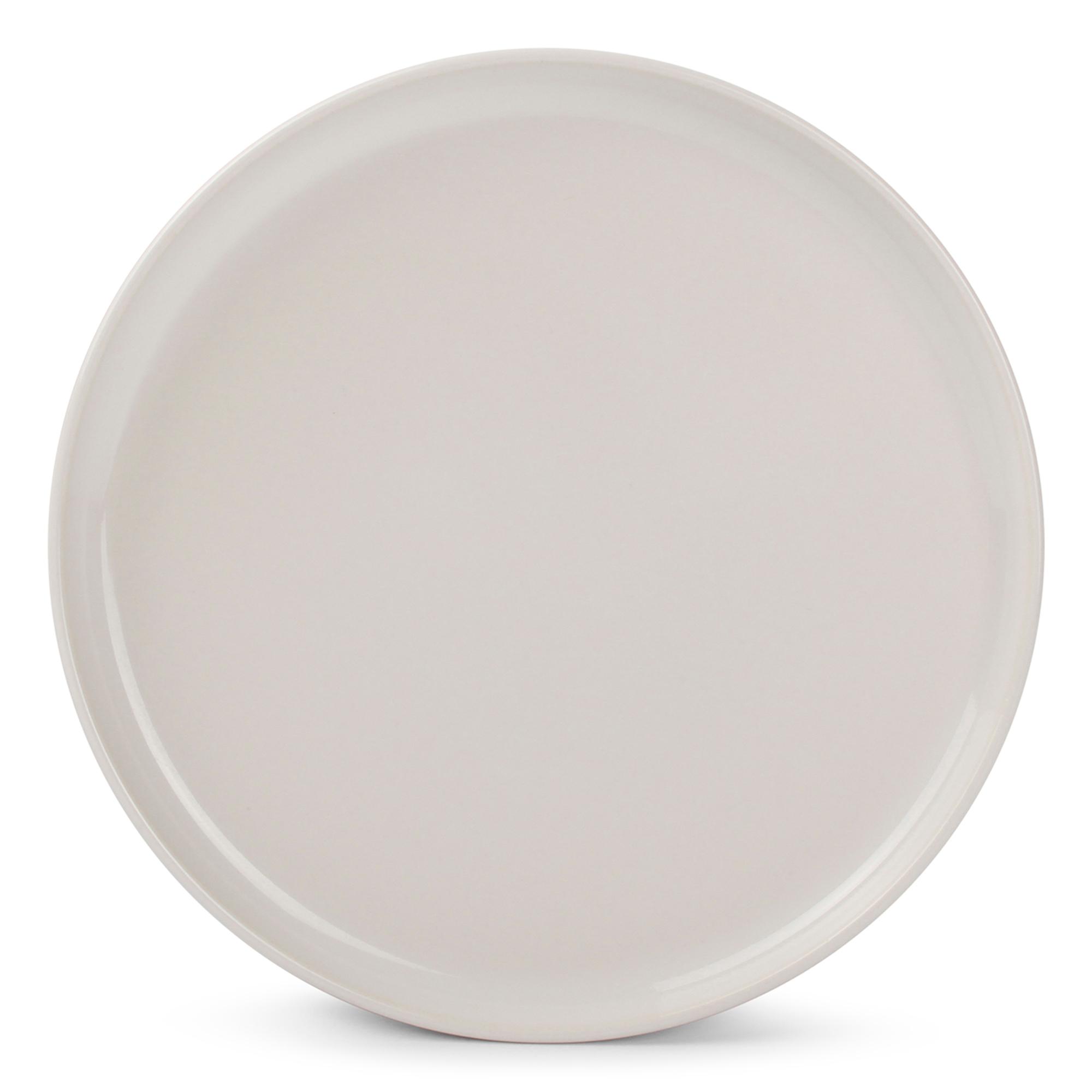 Lot de 6 - Assiette plate ivoire Ø 20cm