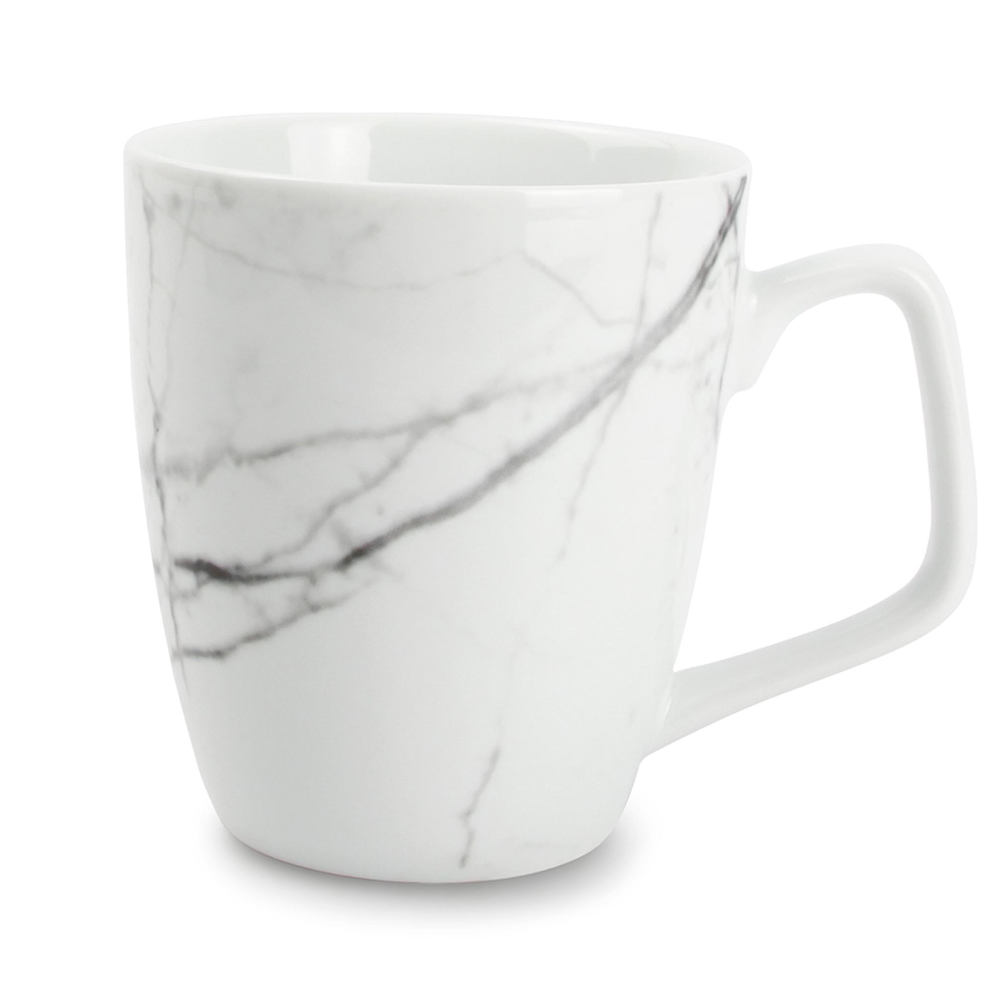 Set de 4 - Tasse marbre Ø 9cm