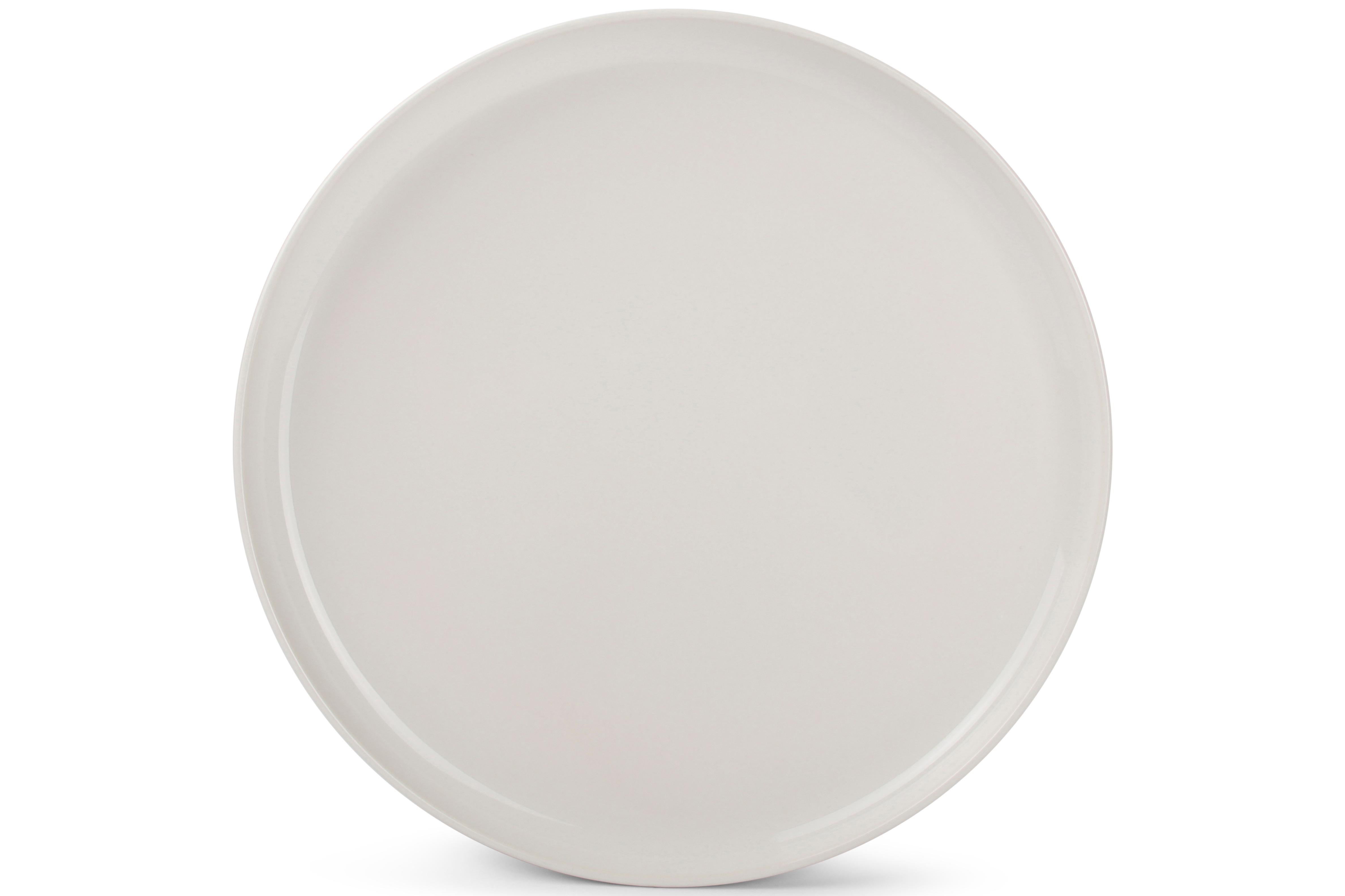 Lot de 6 - Assiette plate ivoire Ø 27cm