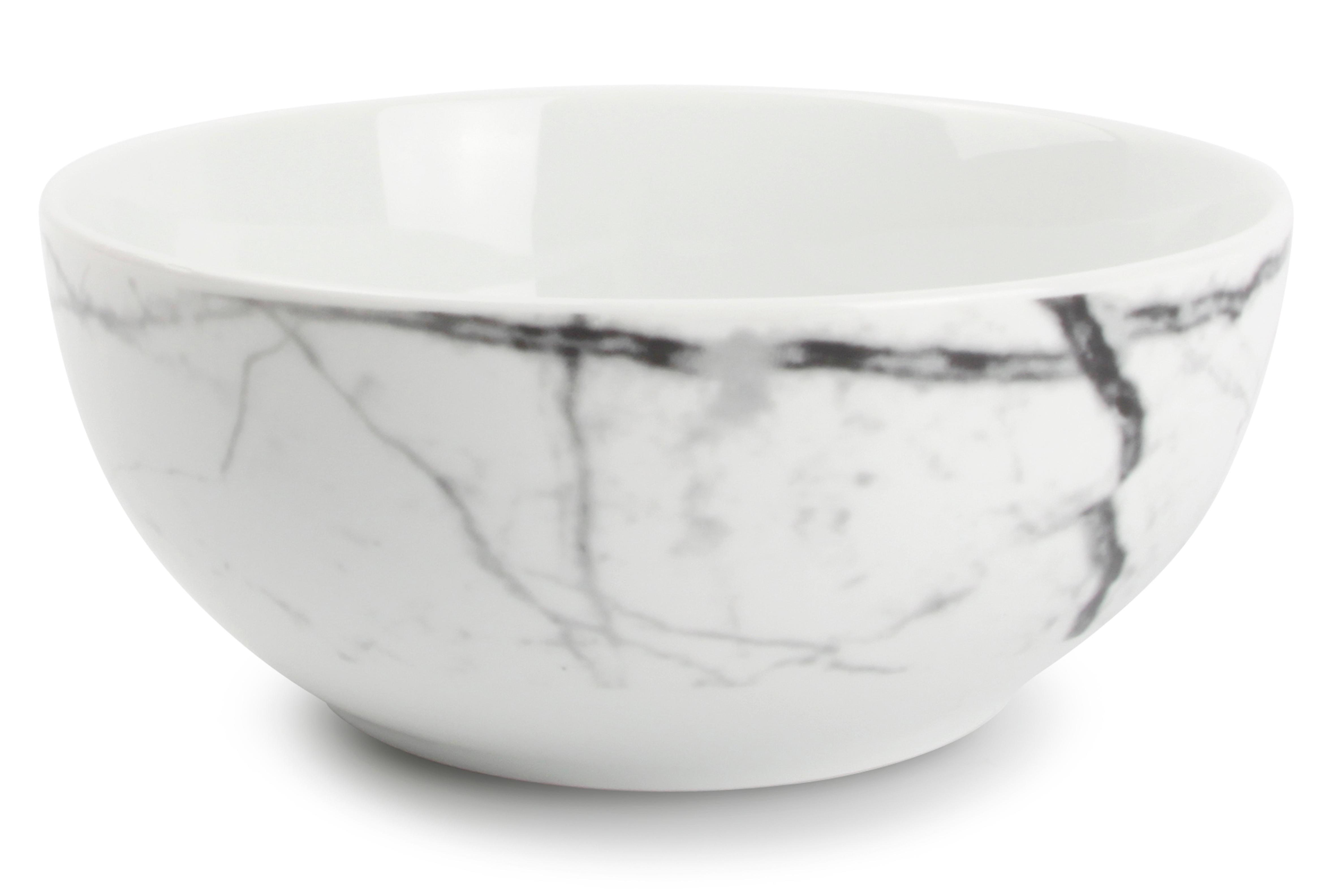 Lot de 4 - Bol marbre Ø 14cm