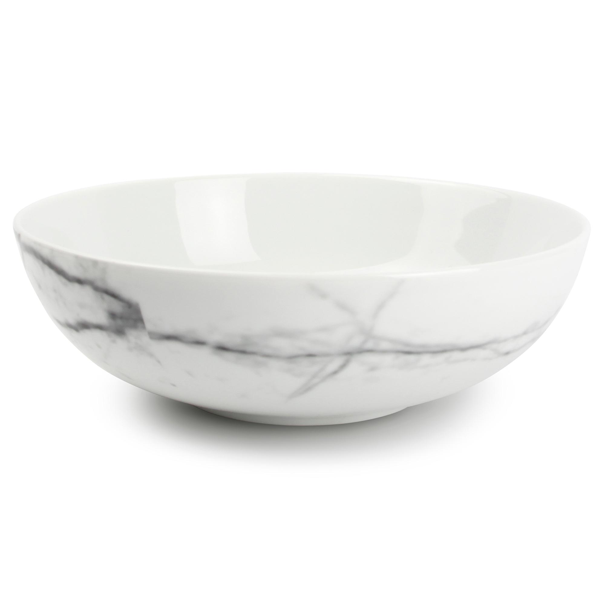 Lot de 4 - Bol marbre Ø 18cm