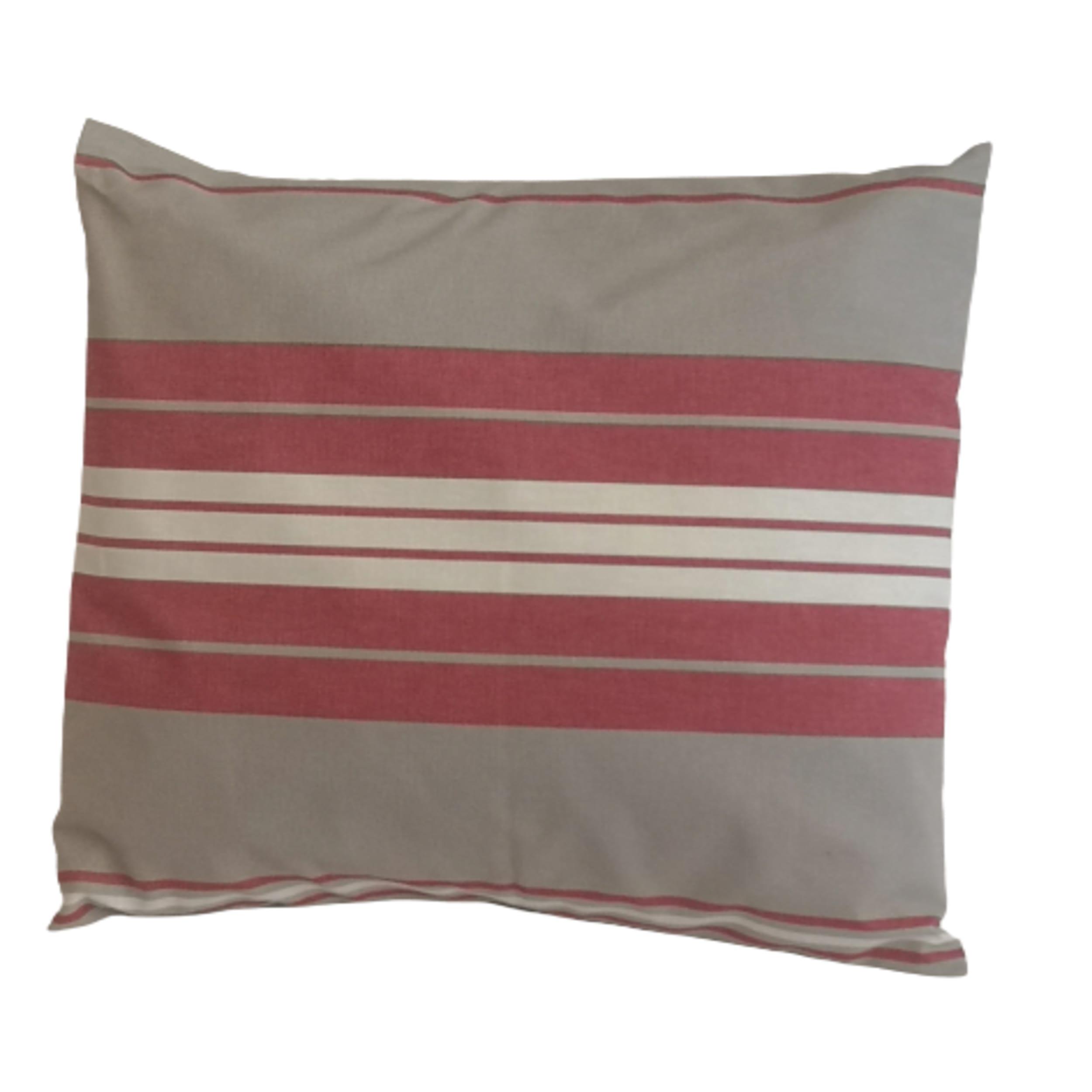 1 lot de housse de coussin 100% coton rouge  45 x 45 cm + 40x60cm