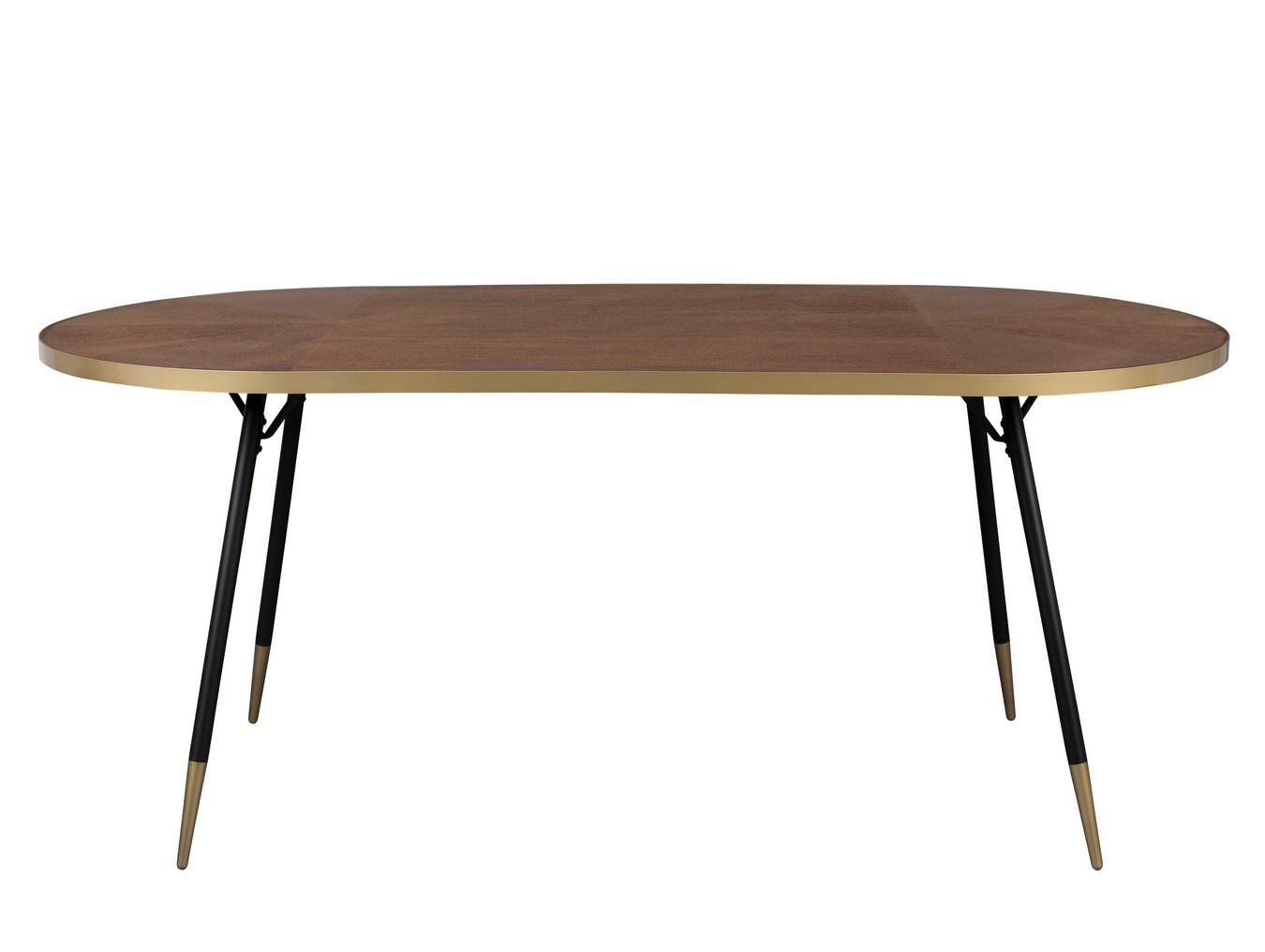 Table de repas ovale art déco L180