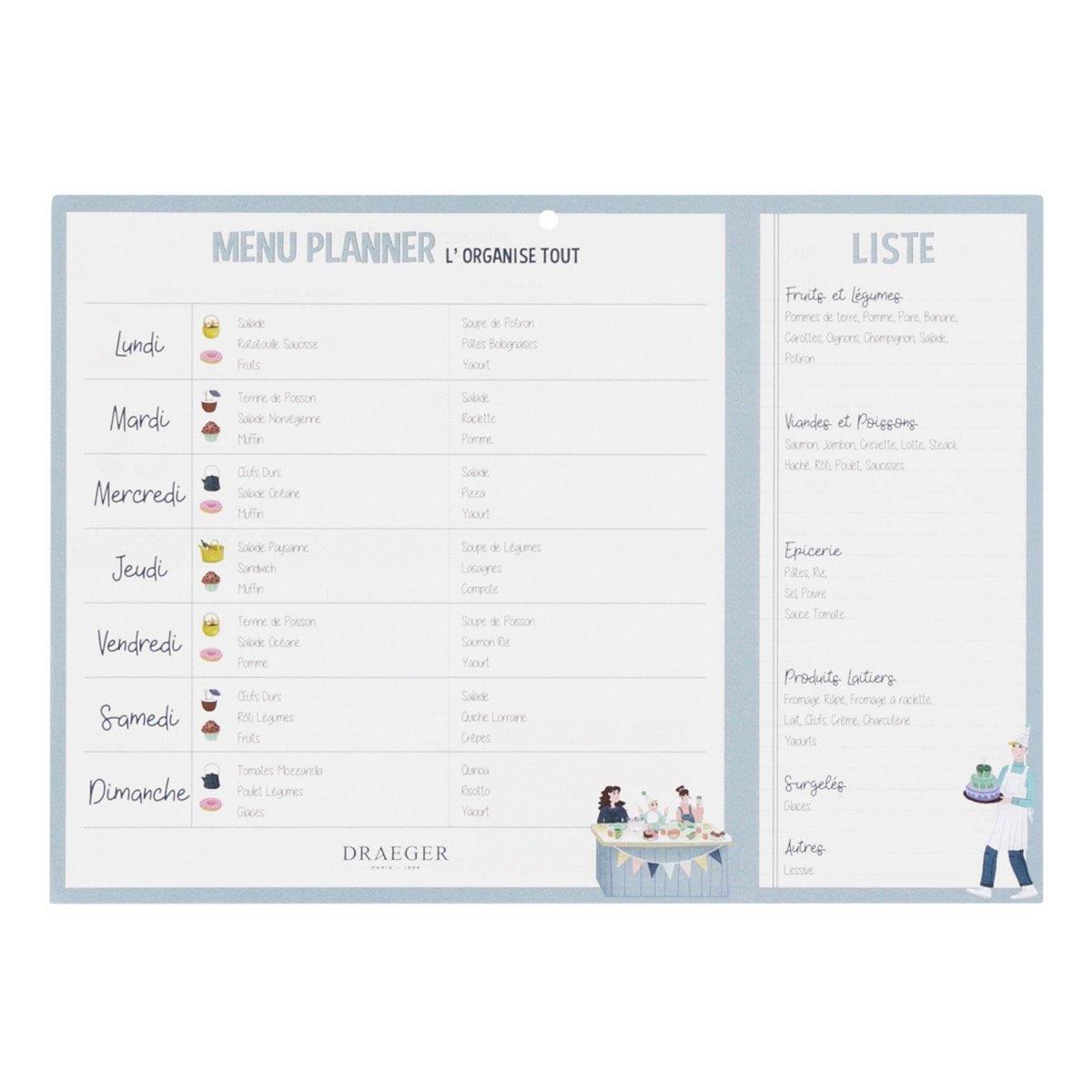 Menu Planner - L'organise Tout