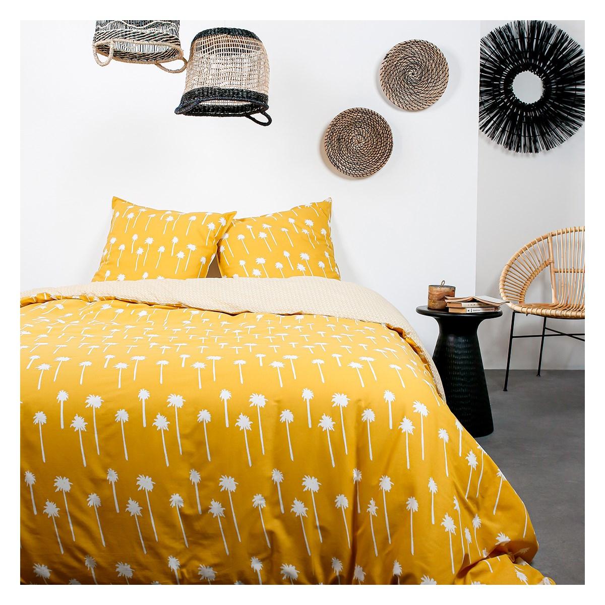 Parure de lit 2 personnes en Coton Multicolore 240x260 cm