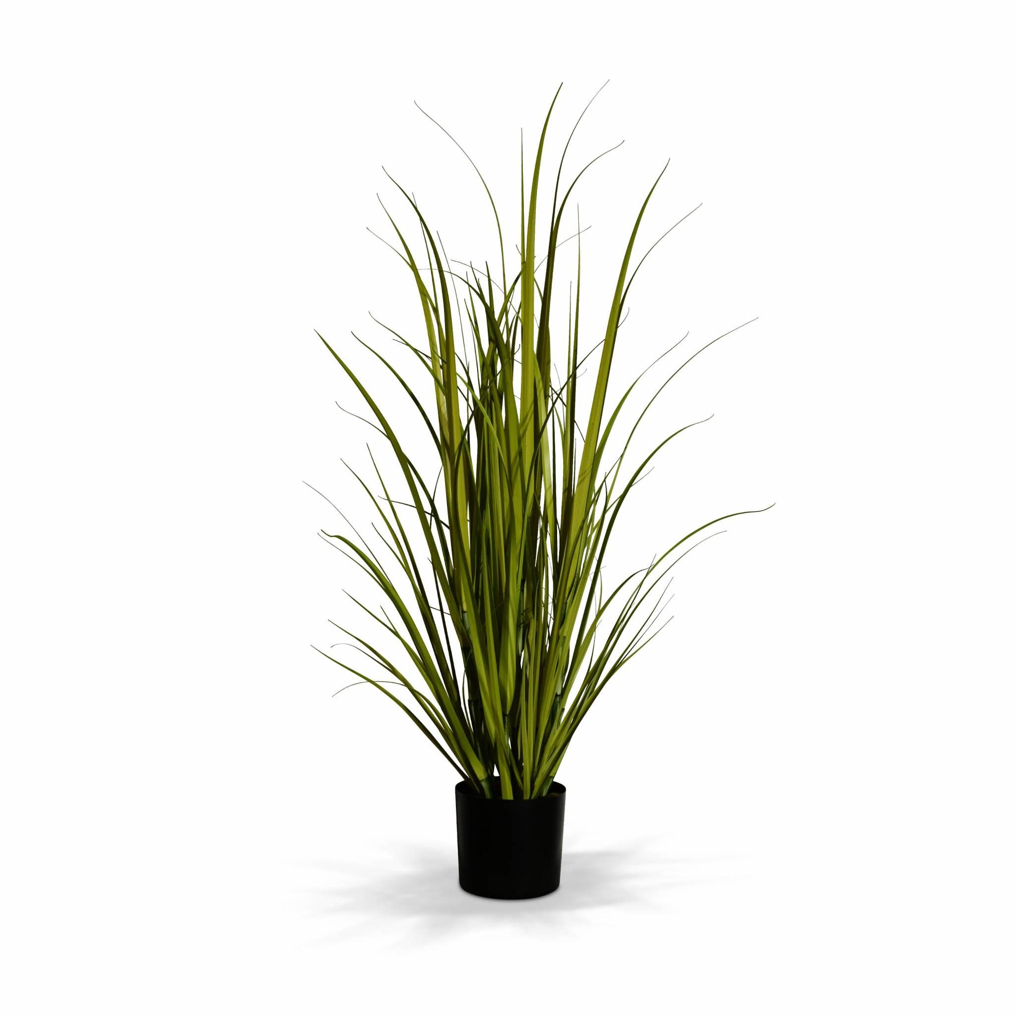 Plante artificielle graminée herbe haute plastique H90cm