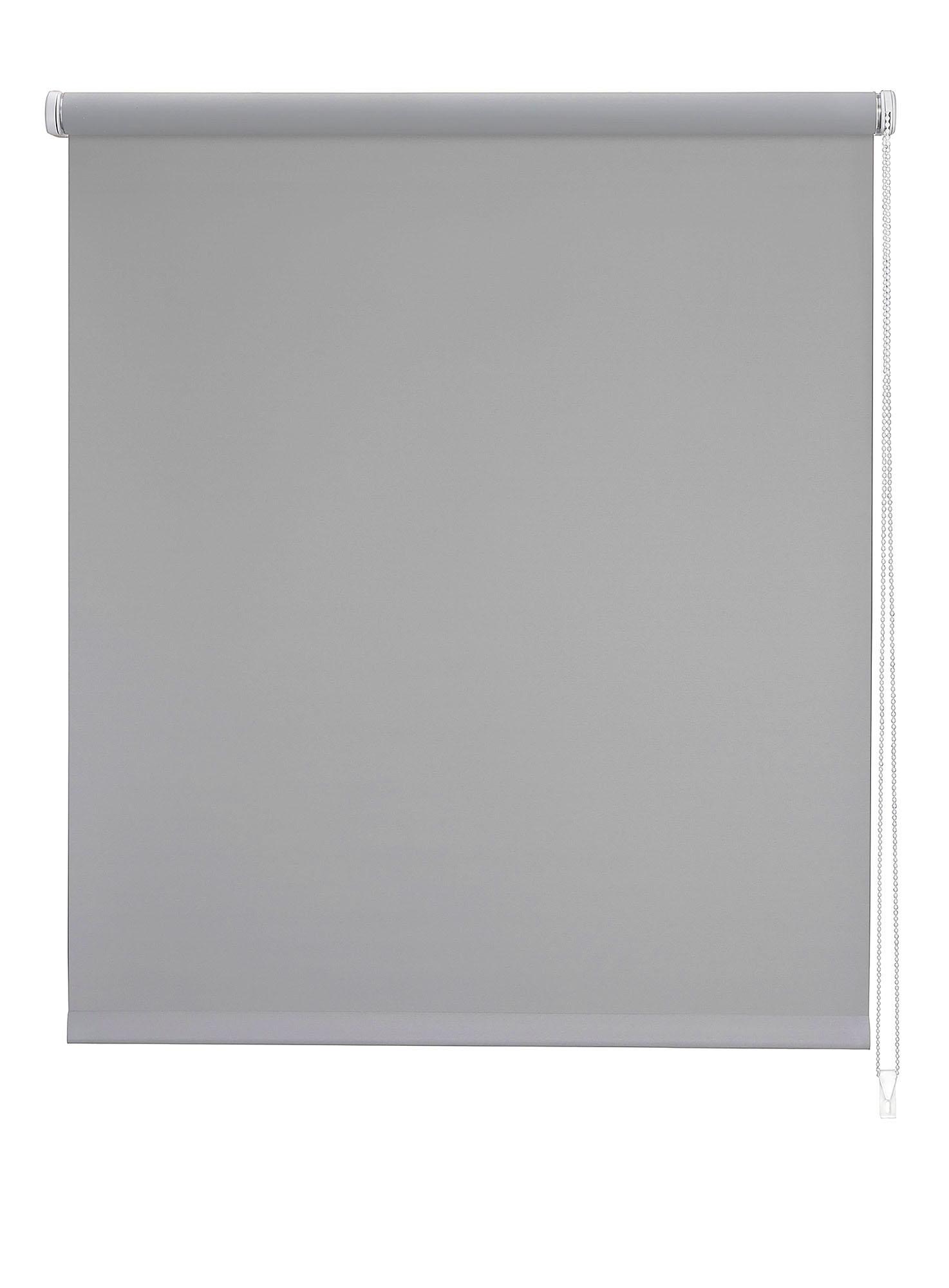 Store enrouleur Translucide - Gris - 120 x 250 cm