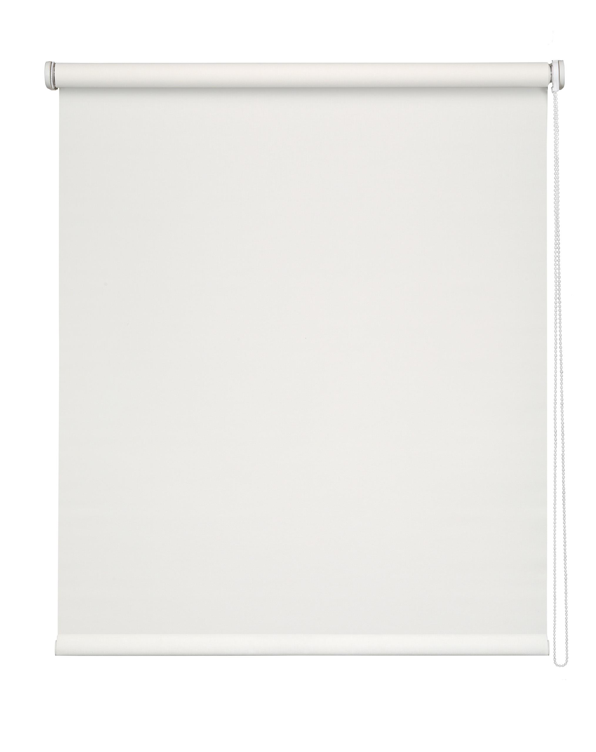 Store Enrouleur voile Screen - Blanc - 105 x 250 cm