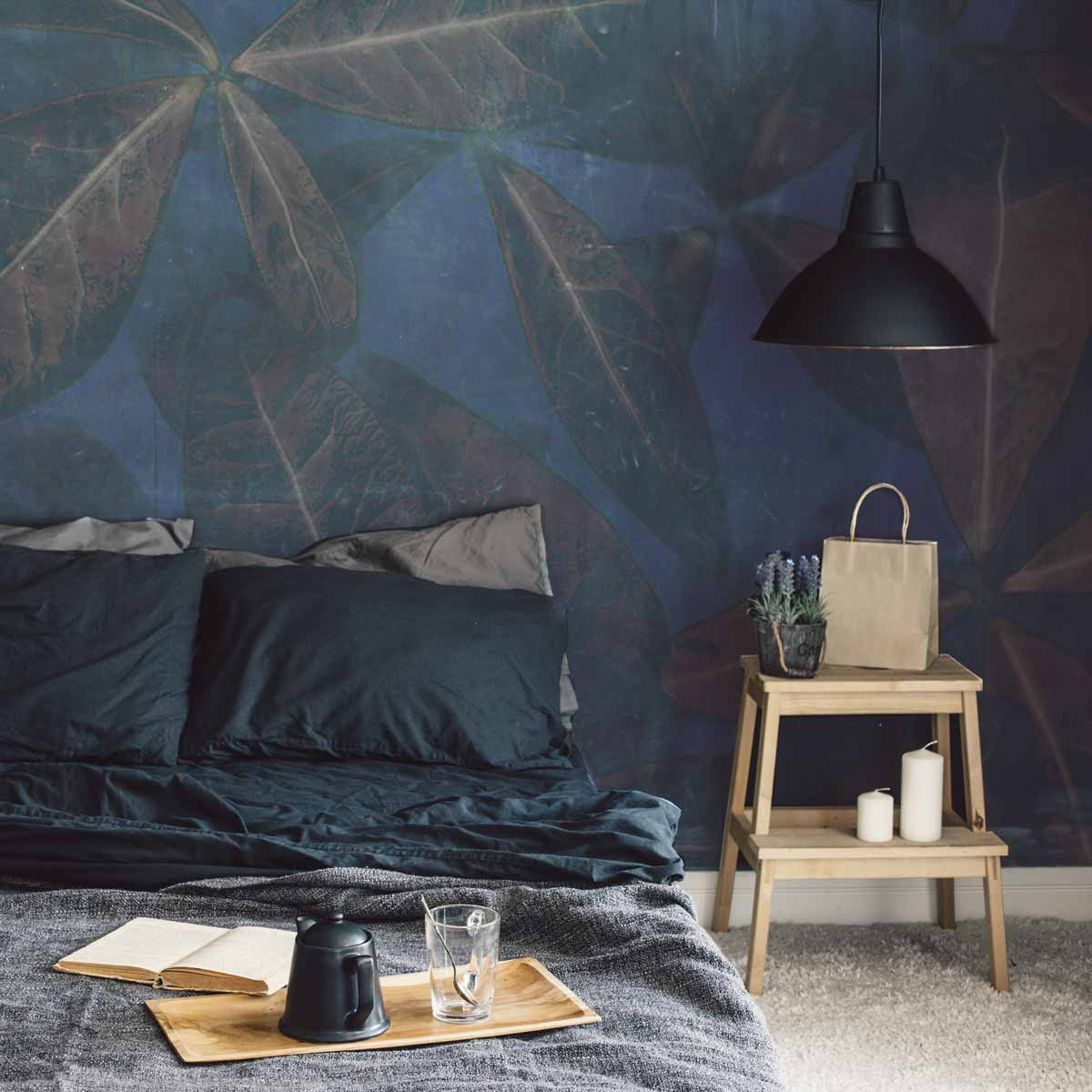 Papier peint panoramique Leaves 255x250cm