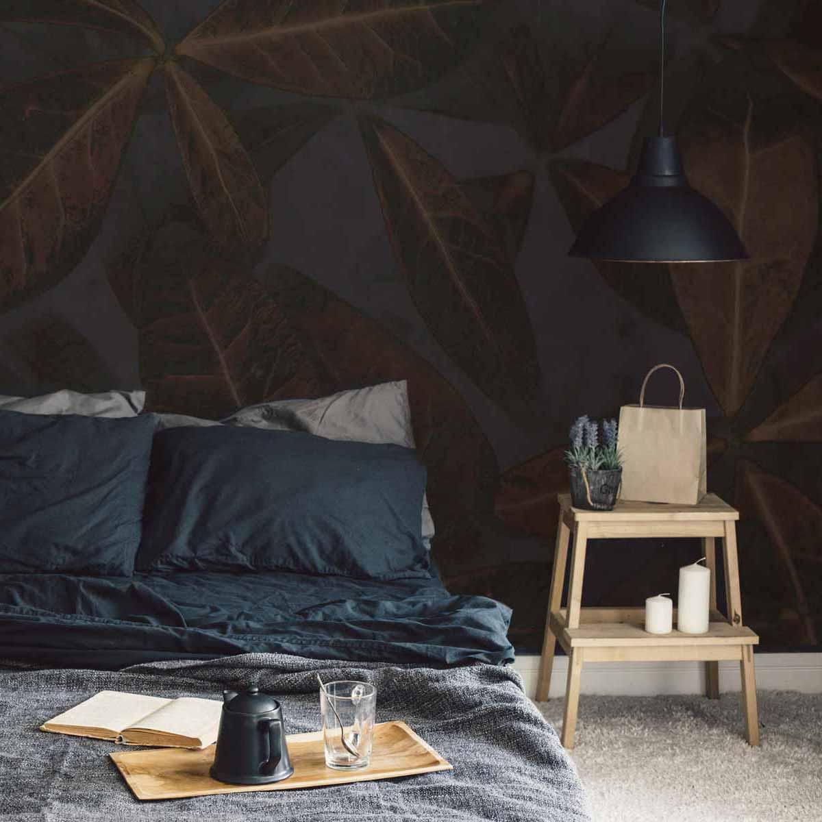 Papier peint panoramique Leaves 425x250cm