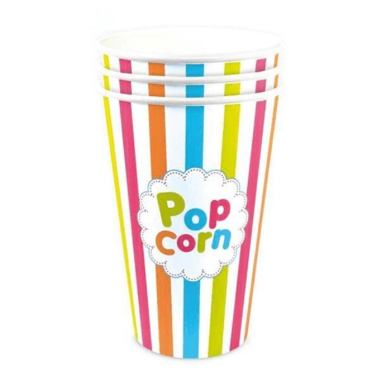 Gobelets pop-corn 45cl - Lot de 3
