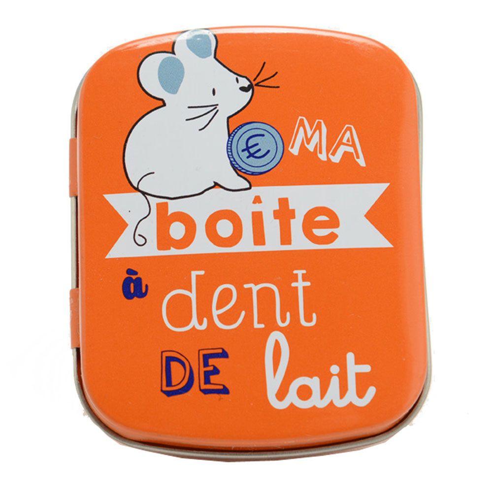 Boite à dents de lait en métal