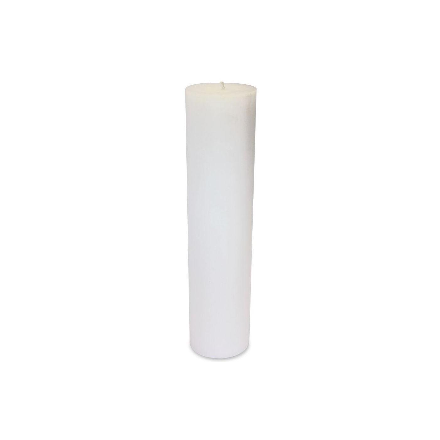 Bougie Blanche pour  Extérieur Diam 15 x 65 cm