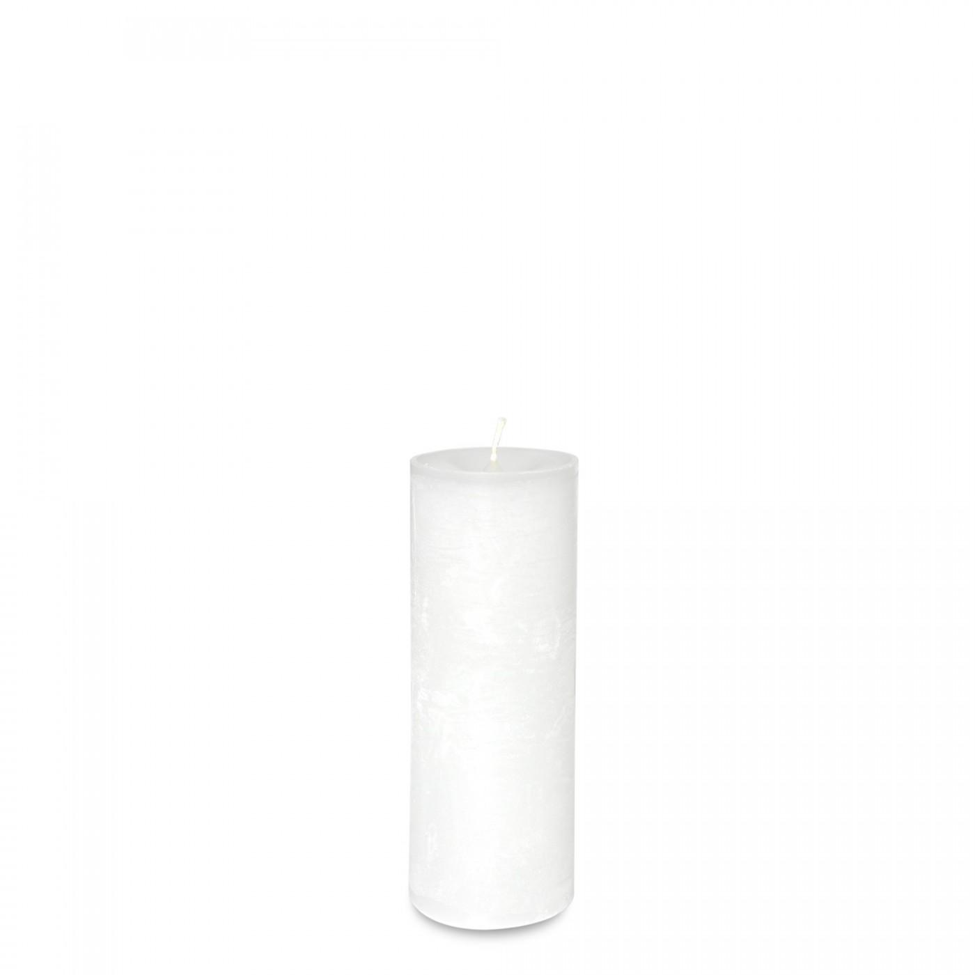 Bougie Blanche Diam 5,7 x 15 cm