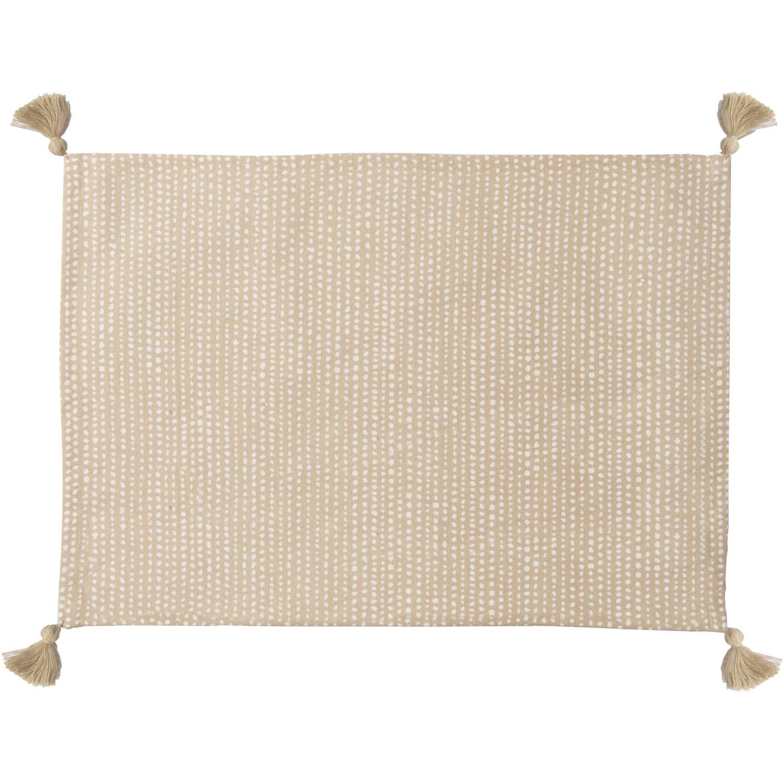 Set de table (set de 4) en coton 50x35 Sable
