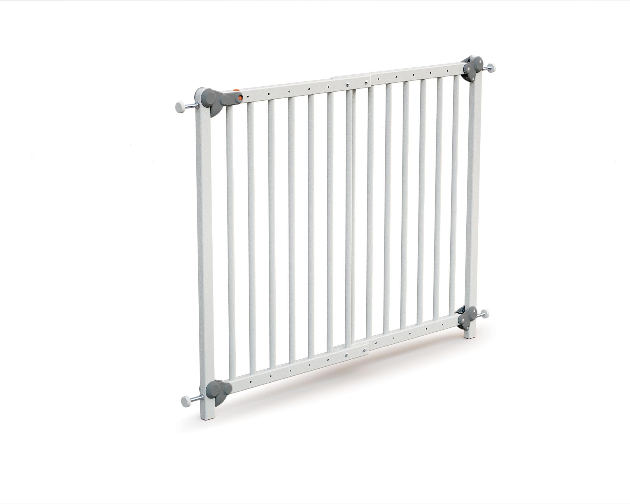 Barrière de sécurité extensible blanc