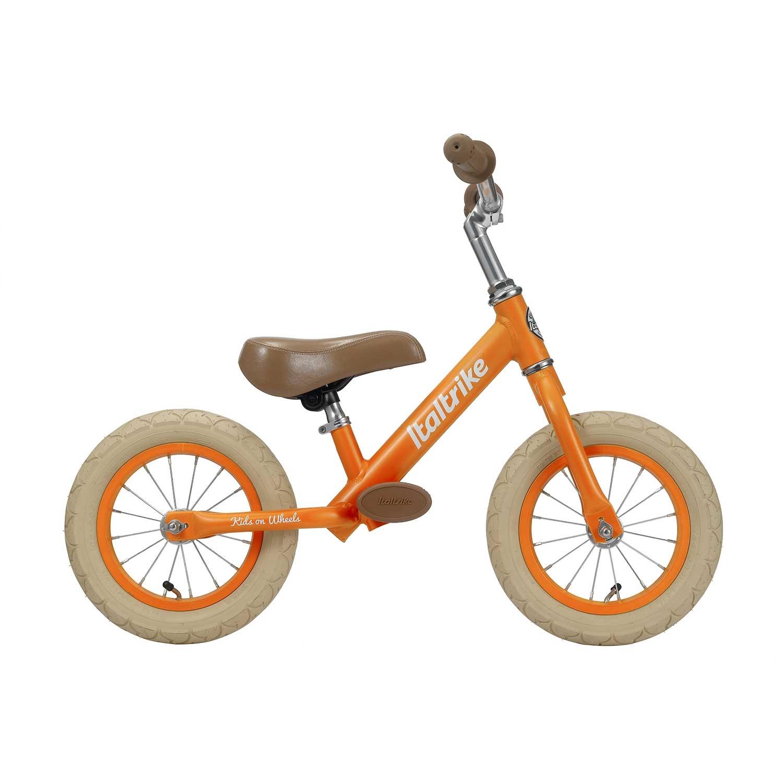Draisienne métal orange avec freins