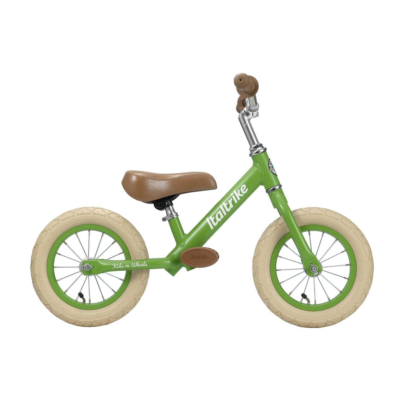 Draisienne métal vert pomme avec freins