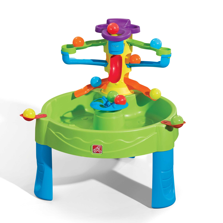 Table de jeux verte pour enfant circuit de balles