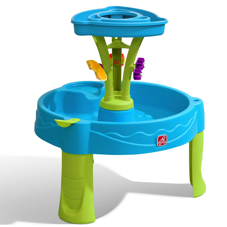 Table à douche bleu et verte jeu d'eau pour enfants