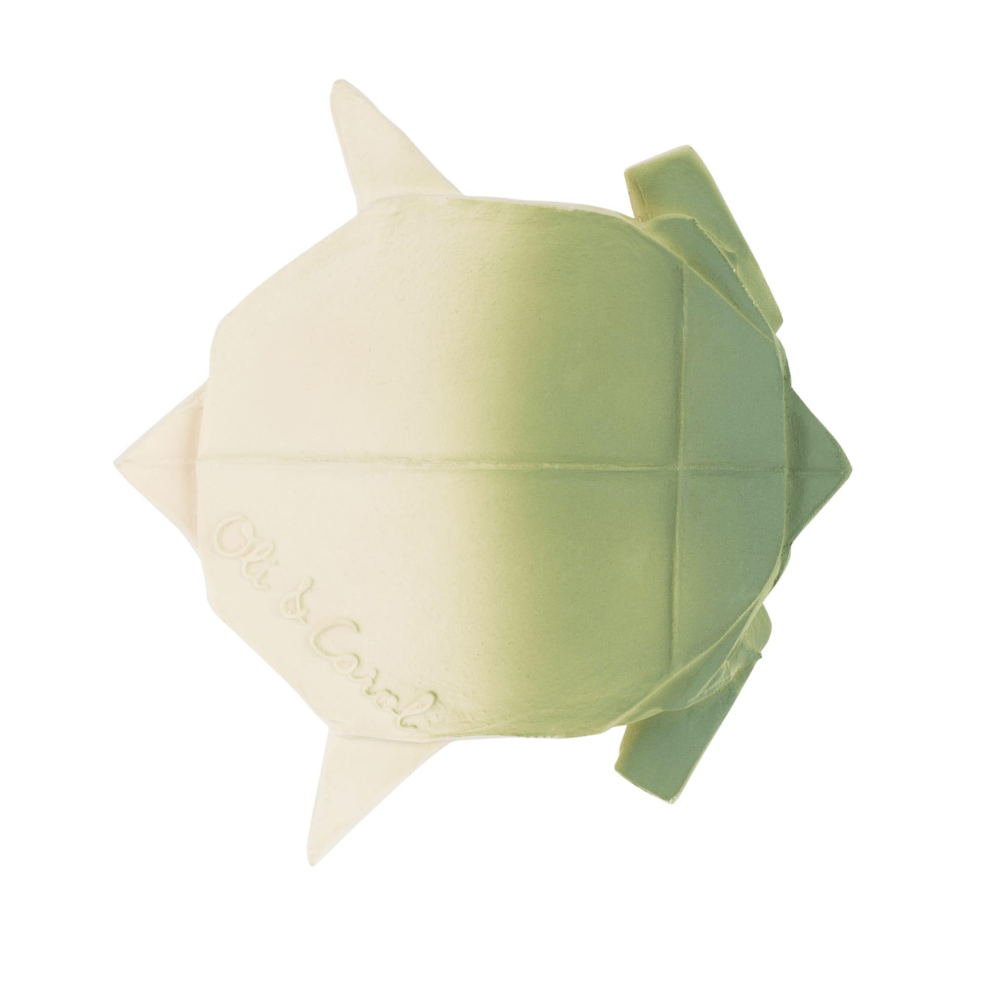 Jouet de bain origami tortue