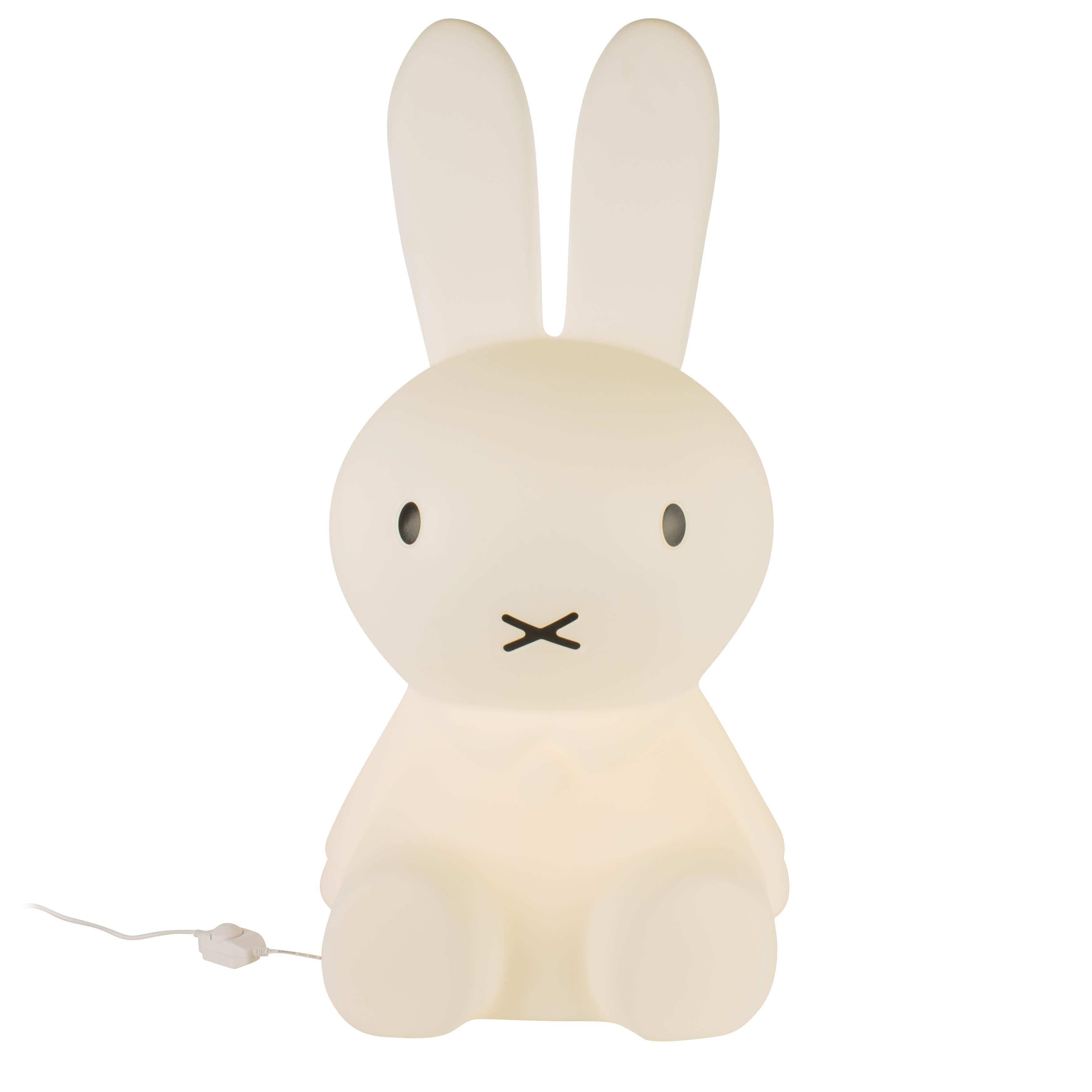 Lampe Miffy XXL blanche H80cm