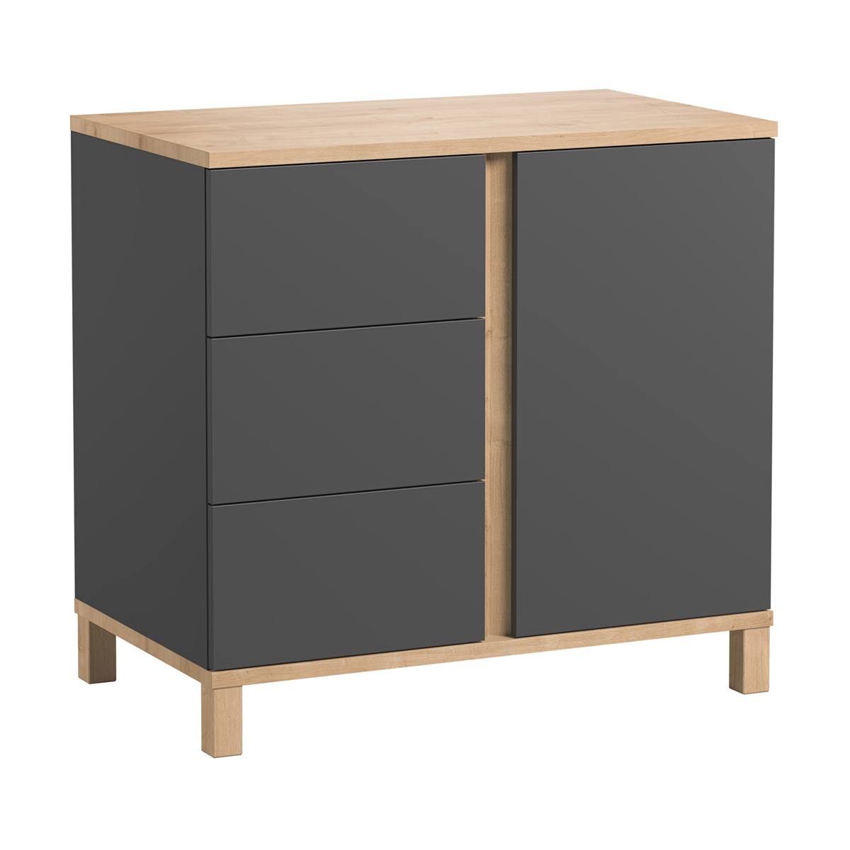 Commode gris