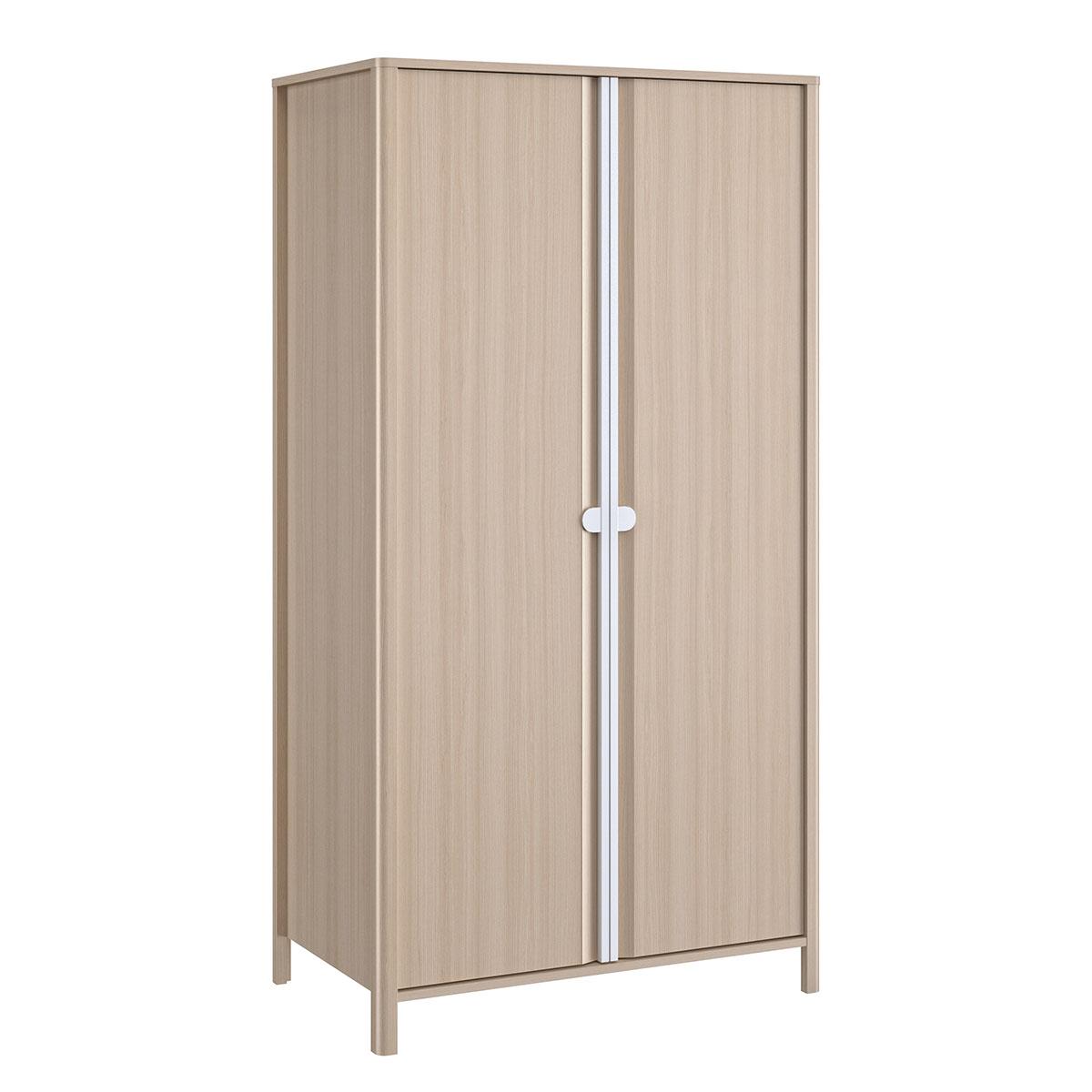 Armoire 2 portes bois