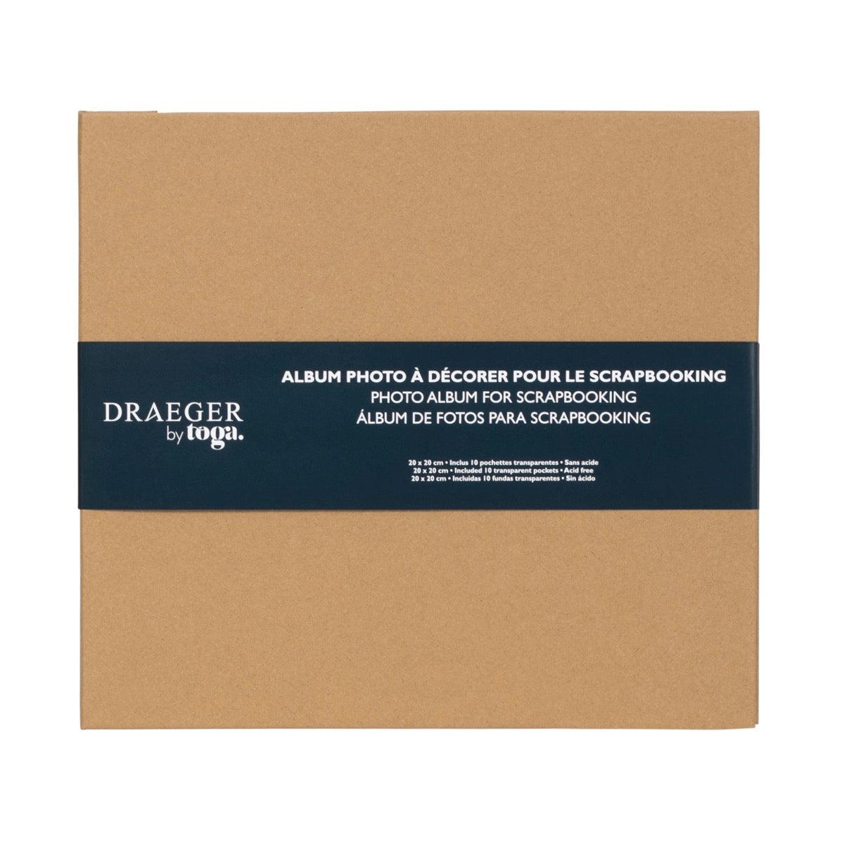 Album De Scrapbooking À Décorer 20x20 Cm -