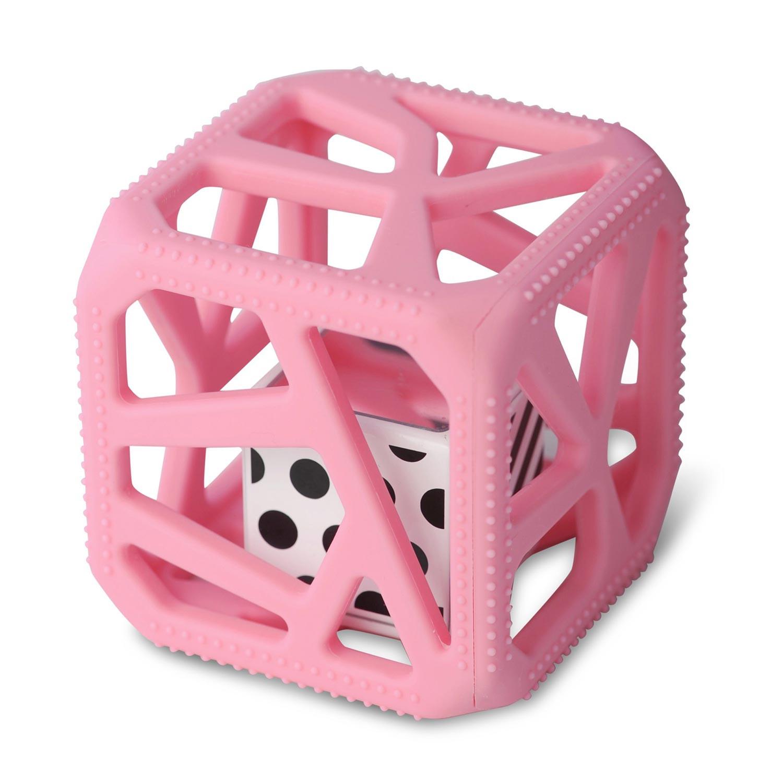 Cube de dentition  rose bébé