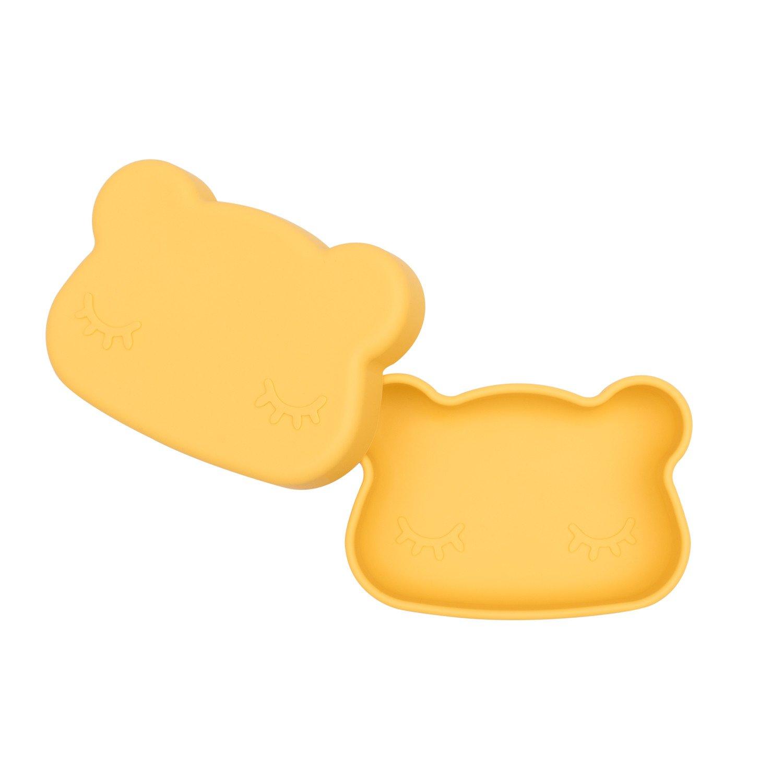 Boîte à goûter en silicone ours
