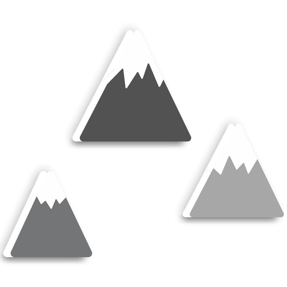 Crochets patères enfants montagne - Lot de 3