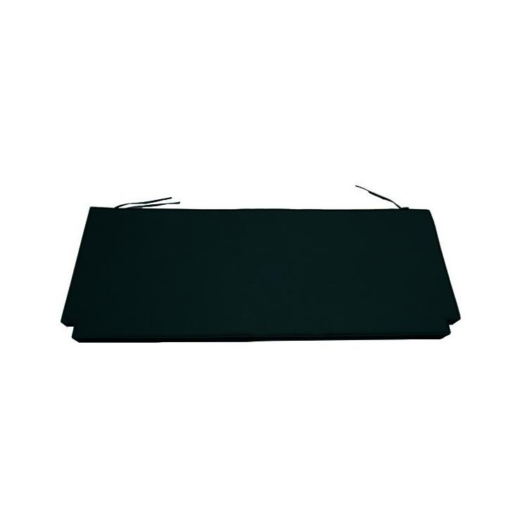 Coussin Noir pour banc 130 cm