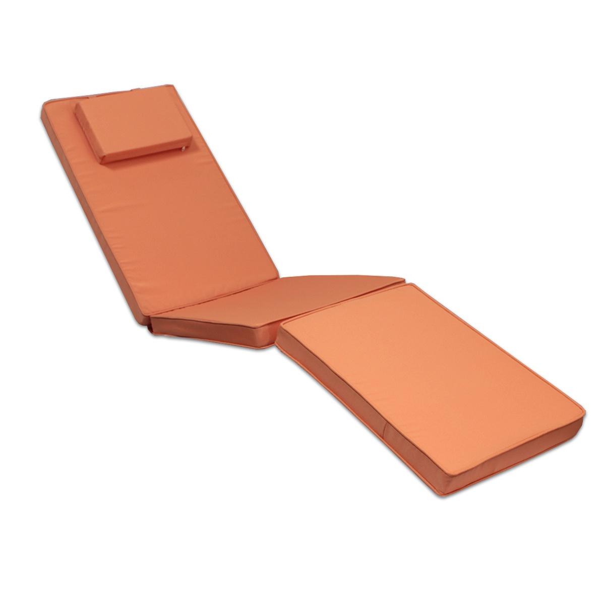 Matelas corail pour chaise longue