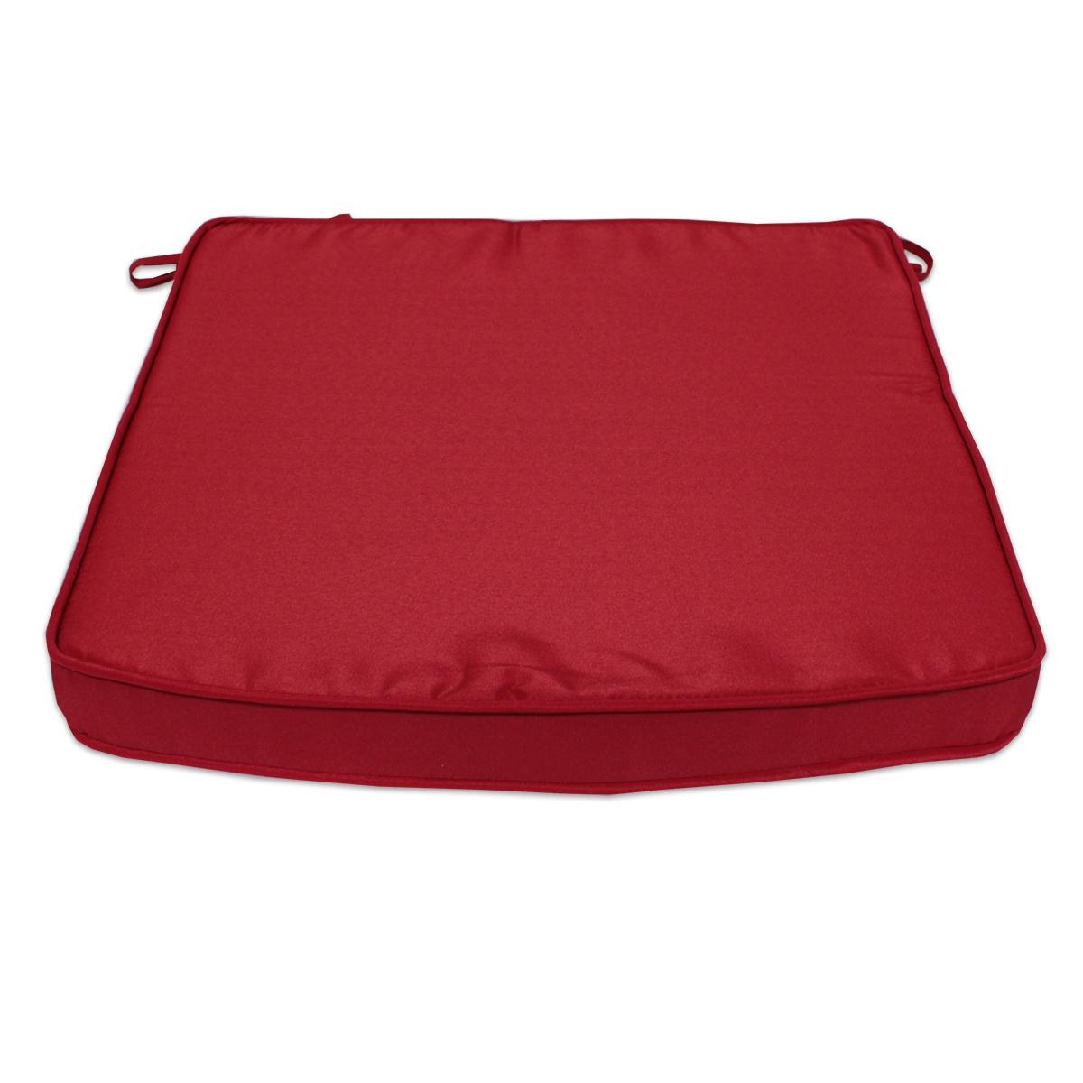 Coussin Rouge pour fauteuils fixes