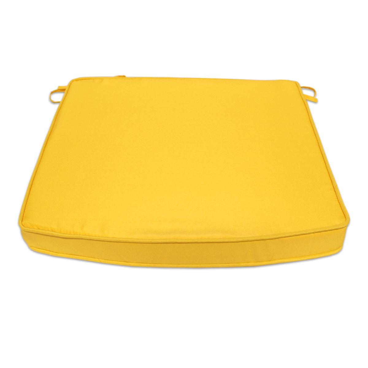 Coussin moutarde pour fauteuils fixes