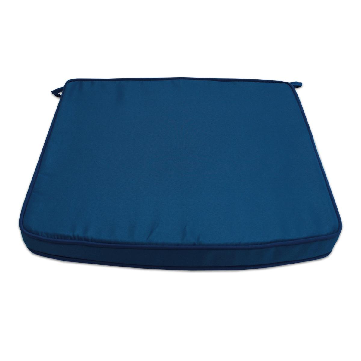 Coussin bleu marine pour fauteuils fixes