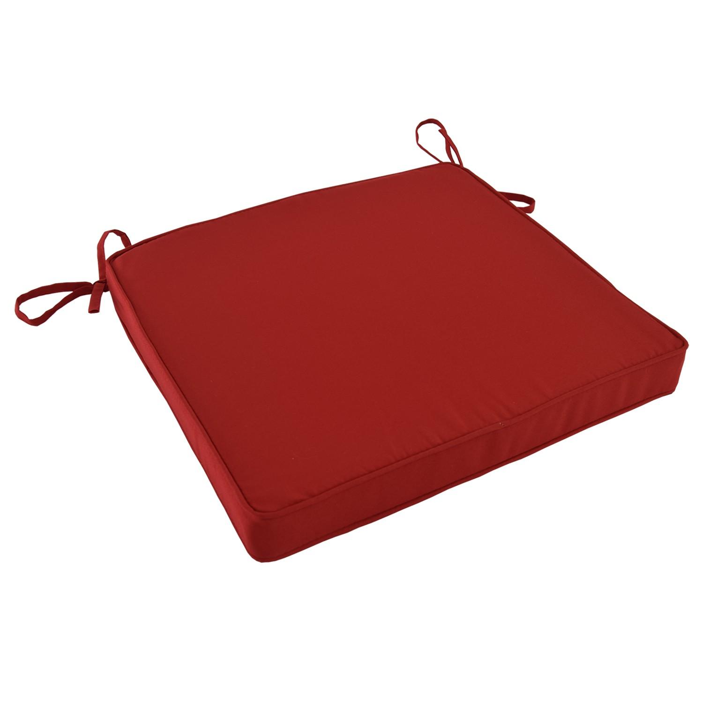 Coussin Rouge pour chaises et fauteuils pliants