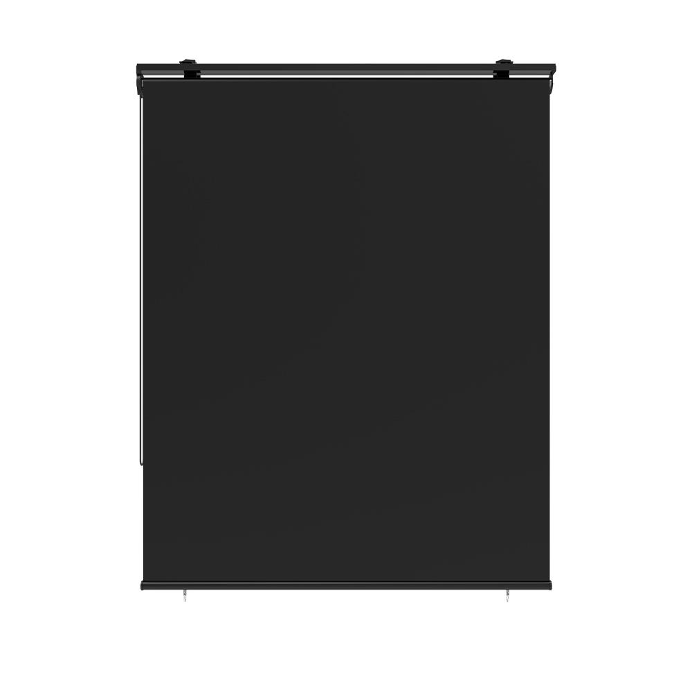 Store enrouleur d'extérieur 120x225cm polyester gris universel