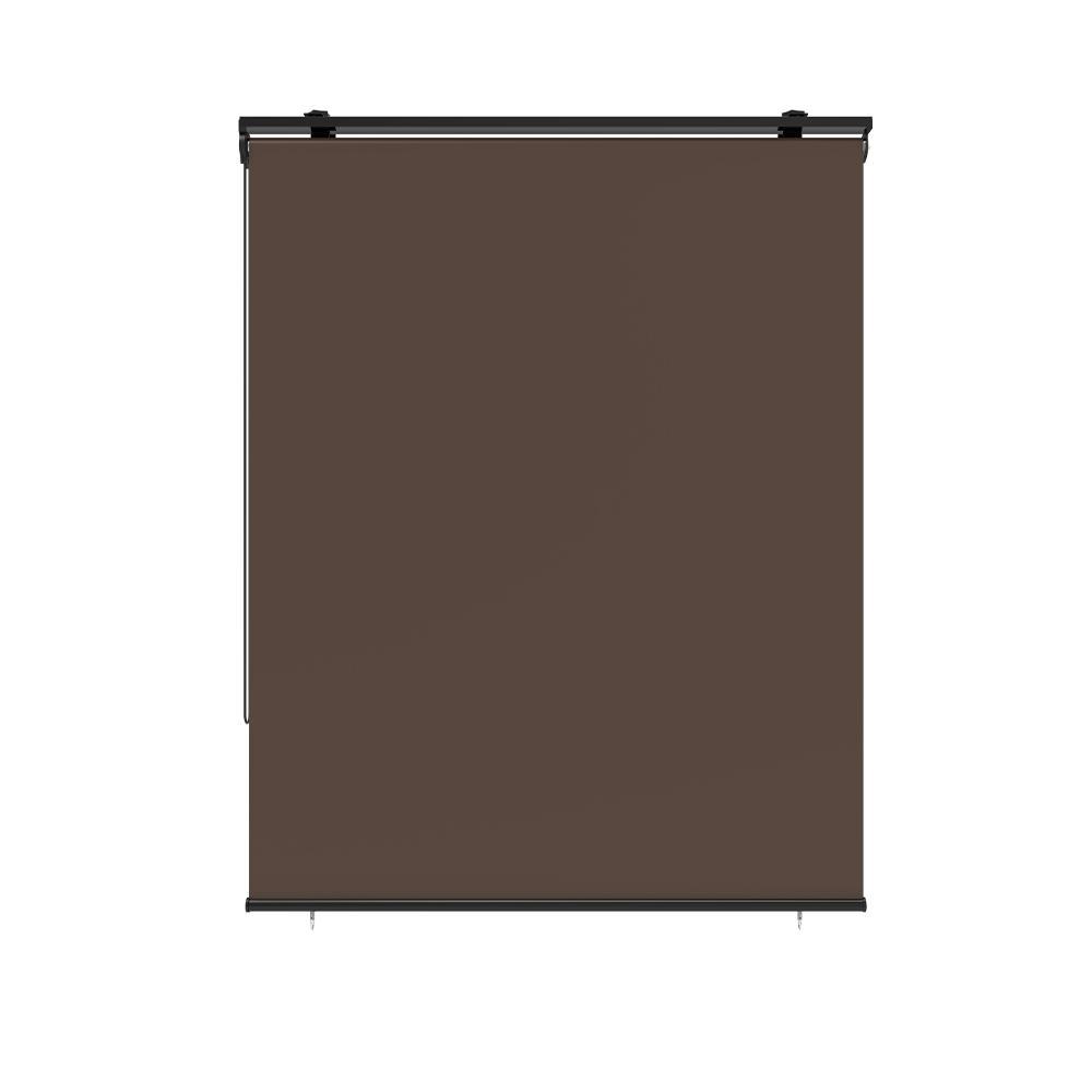 Store enrouleur extérieur 120x225cm polyester taupe universel