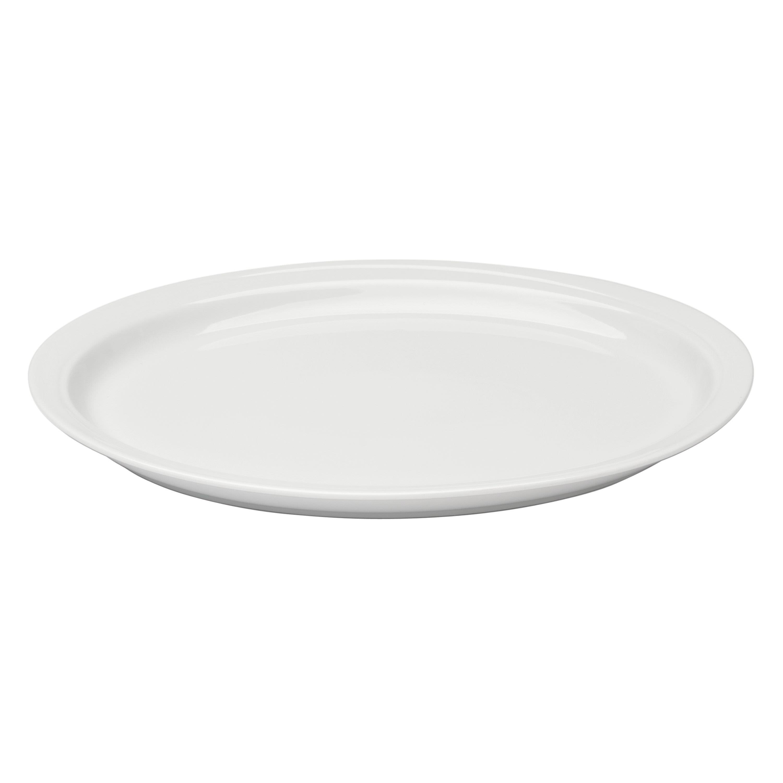 Plat ovale en porcelaine 2pcs