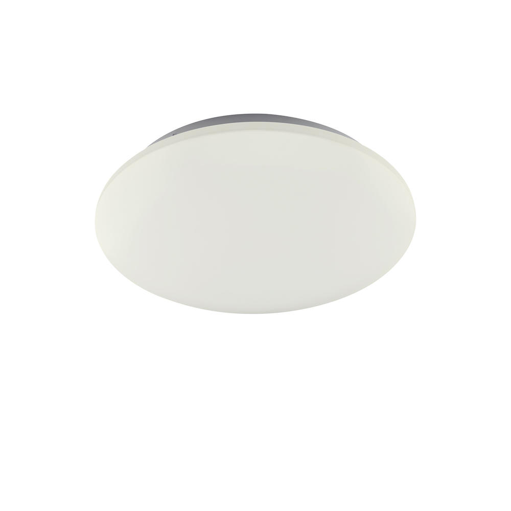 Plafonnier métal blanc led D33cm