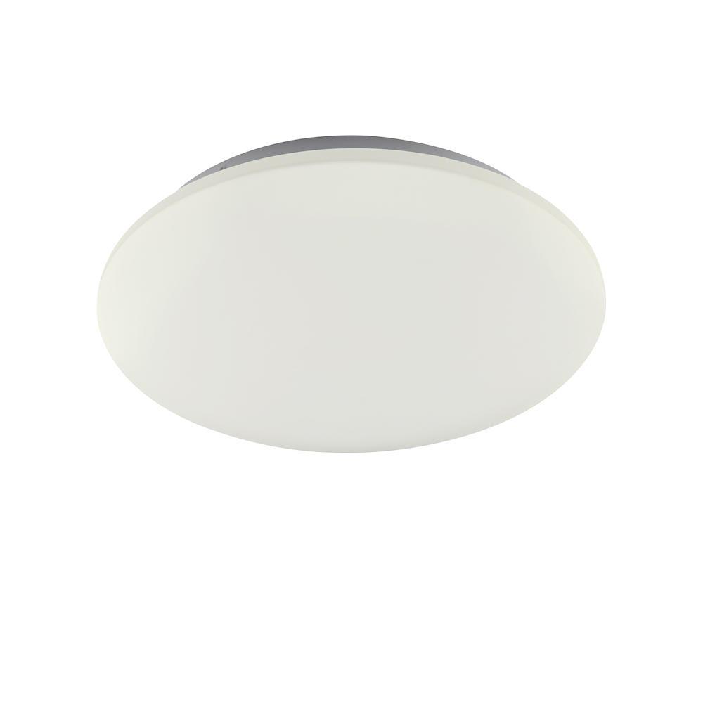 Plafonnier métal blanc led D38cm