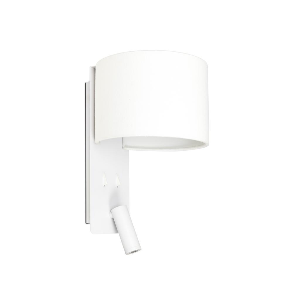 Applique aluminium blanc led